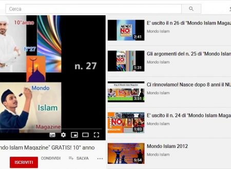 "Il video per il n. 27 di ""Mondo Islam Magazine"""